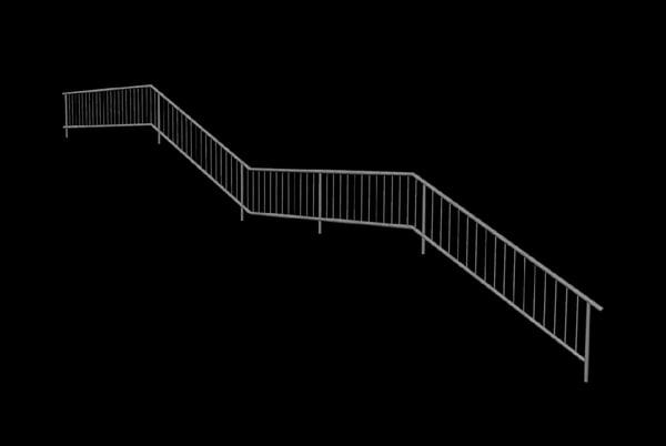 x handrail rail