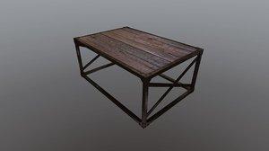 free fbx model coffee table