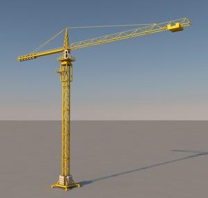 tower crane construction 3ds