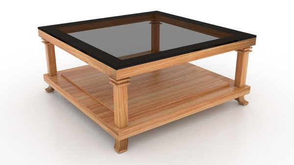 3d model cassina coffee table