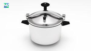 3d model of cooker pressure