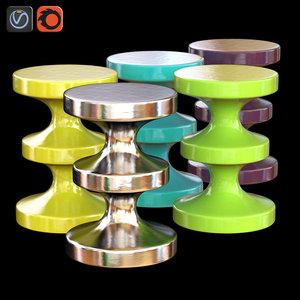 ceramic stool india mahdavi max