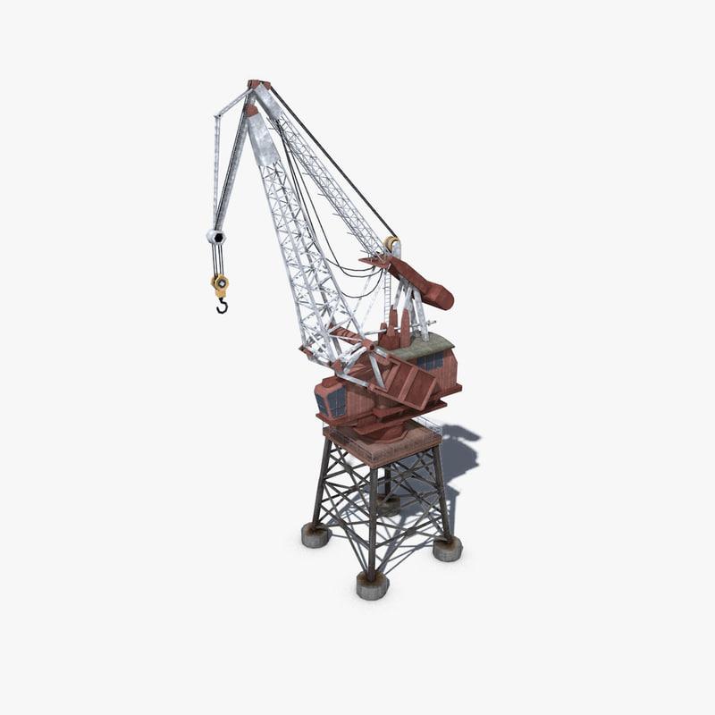 dock crane max