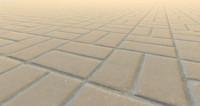 brick tile pavement