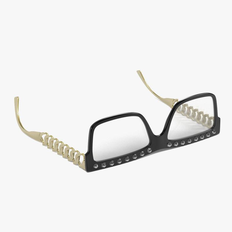 glasses obj