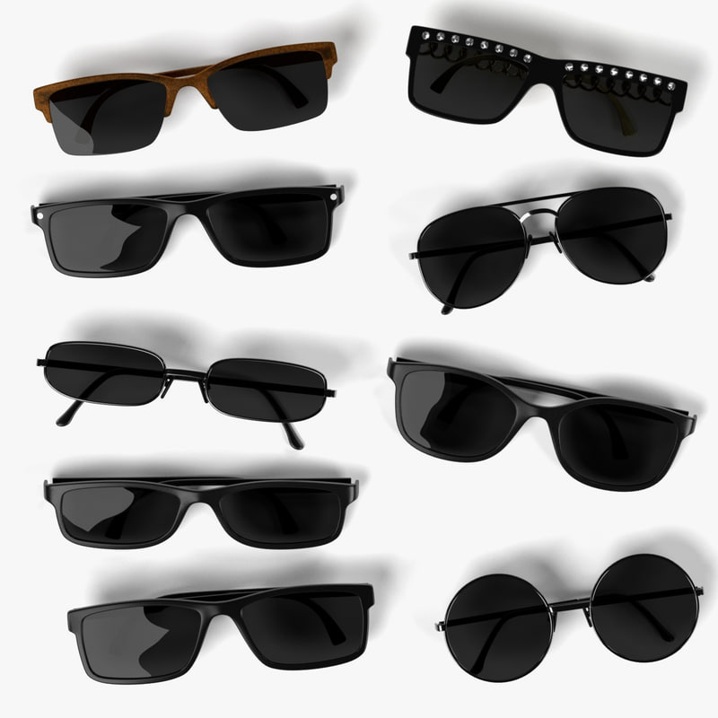 sunglasses set 3ds