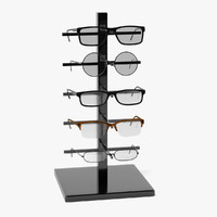 glasses rack 3d model