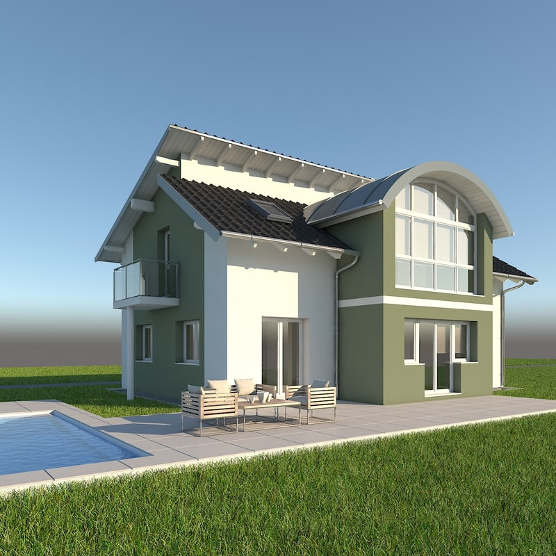 max modern single family home
