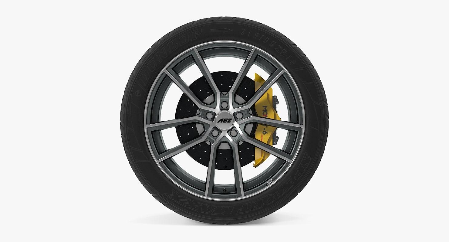 raise disk car wheel dxf