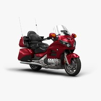 3d 2016 honda goldwing model