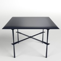table desk 2 3d 3ds
