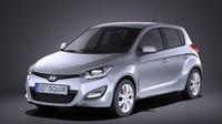 Hyundai  I20 5door 2014 VRAY
