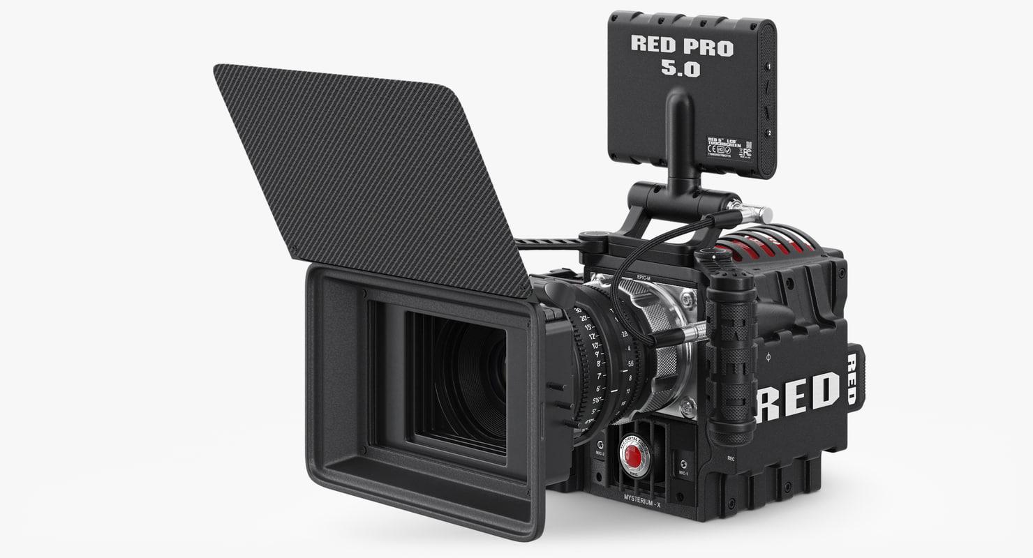 red epic camera obj