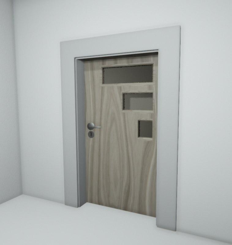 3d doors l model