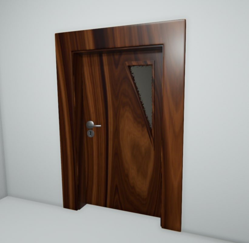 doors l r 3d fbx