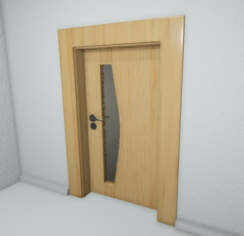 doors l r 3d model
