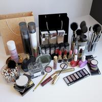 3d model cosmetics set