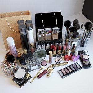3d cosmetics set