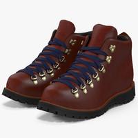 3d hiking boots 2 model