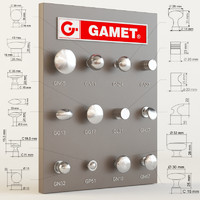 gamet furniture knobs max