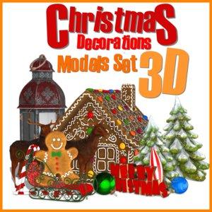 christmas decorations set max
