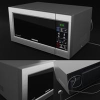 3d samsung microwave