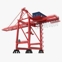 3d ship shore crane