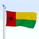 Guinea flag 3D models