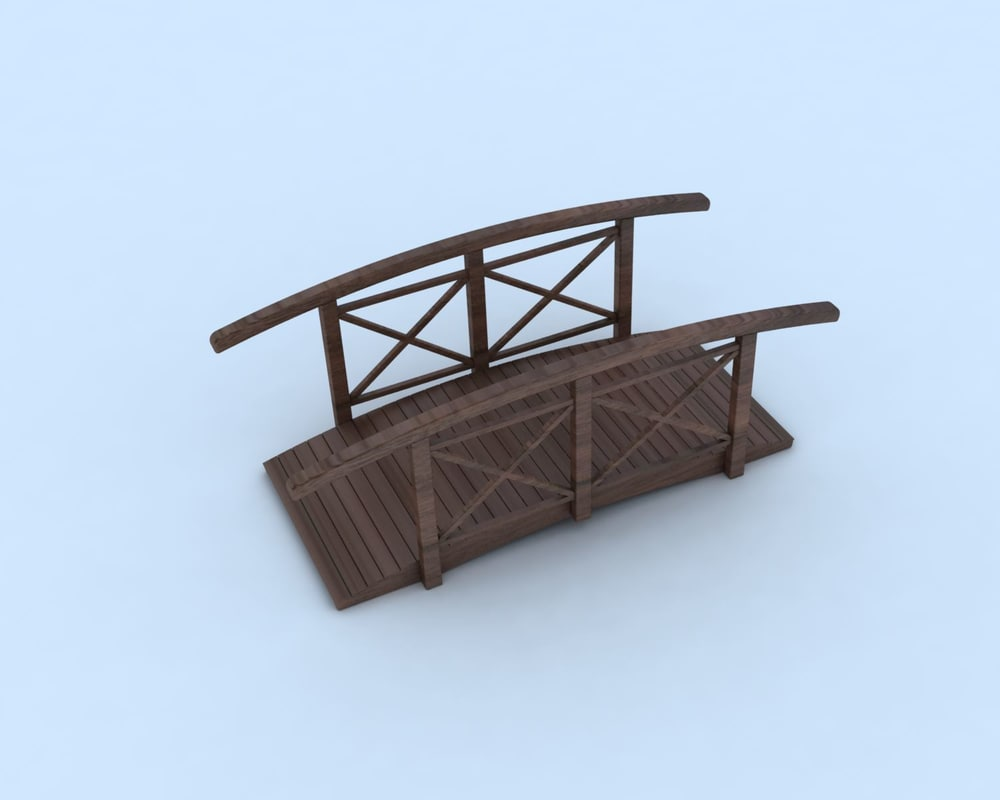 wooden bridge max