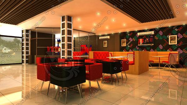 fast food restaurant 3ds
