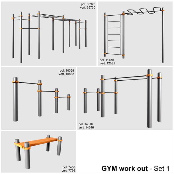 3d workout model