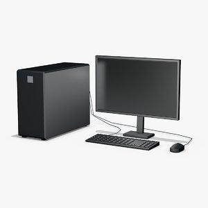 stylized desktop 3ds
