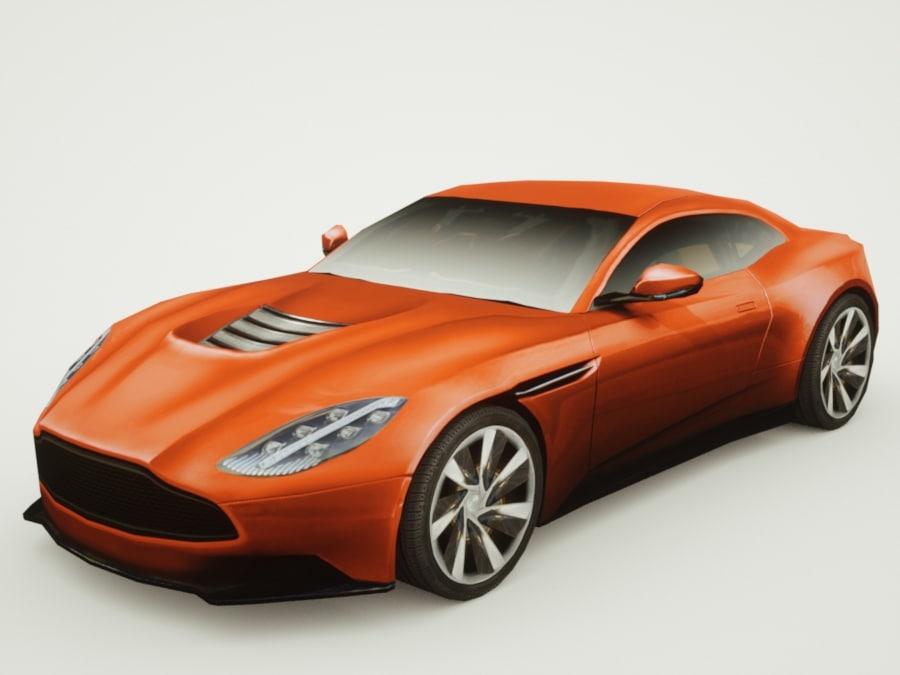 generic supercars car 3d lwo
