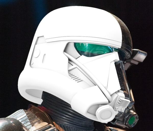 death trooper rogue 3d model