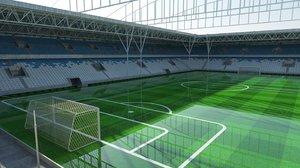 3ds stadium goals field