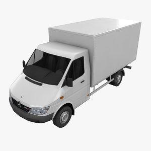 obj mercedes sprinter truck