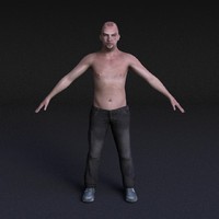 Male Model #10 - Rigged