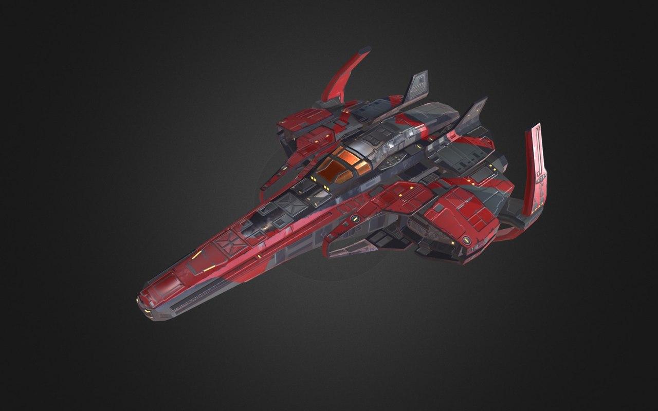 x spaceship pbr