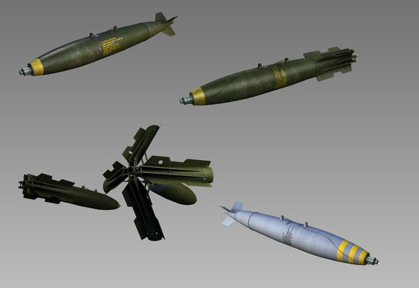 bombs mk-82 3d model