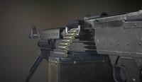m240b bullet 3d model