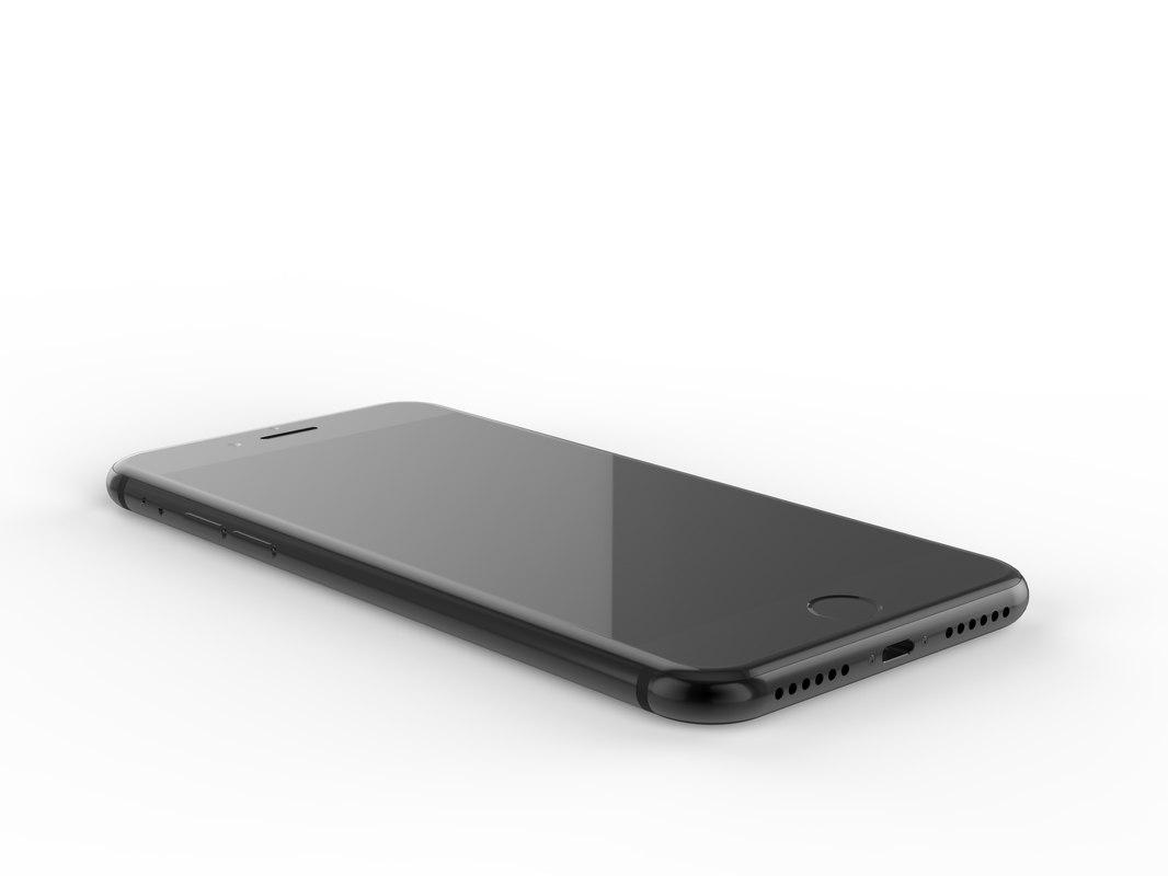 3d model iphone 7