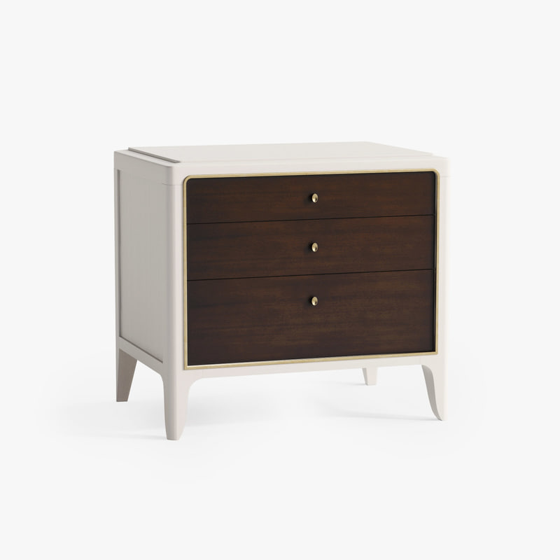 3d model of baker soft corner bedside