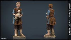 3d model shepherd