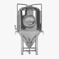 beer fermenter tank 3ds