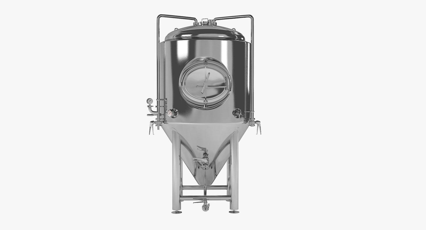 beer fermenter tank 3ds