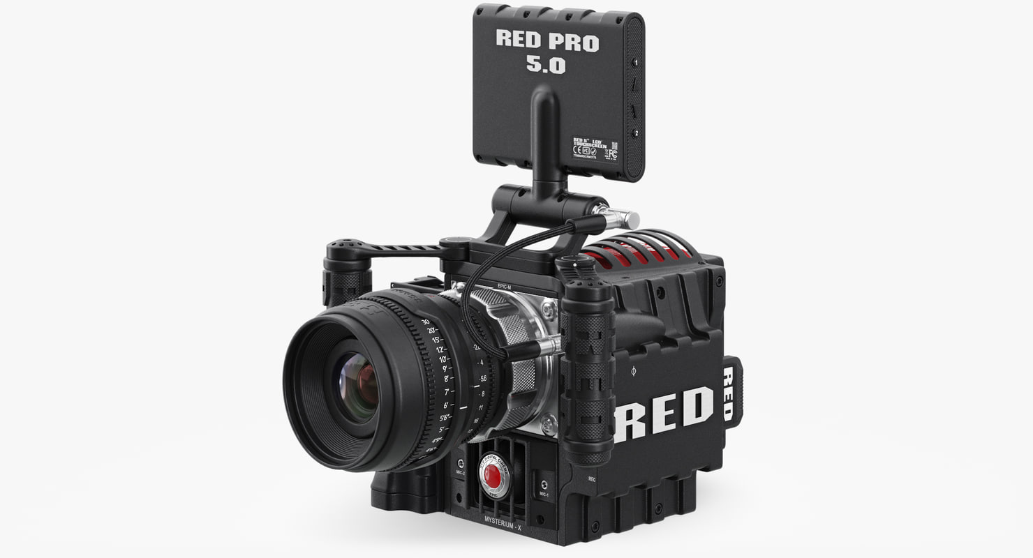 red epic camera max