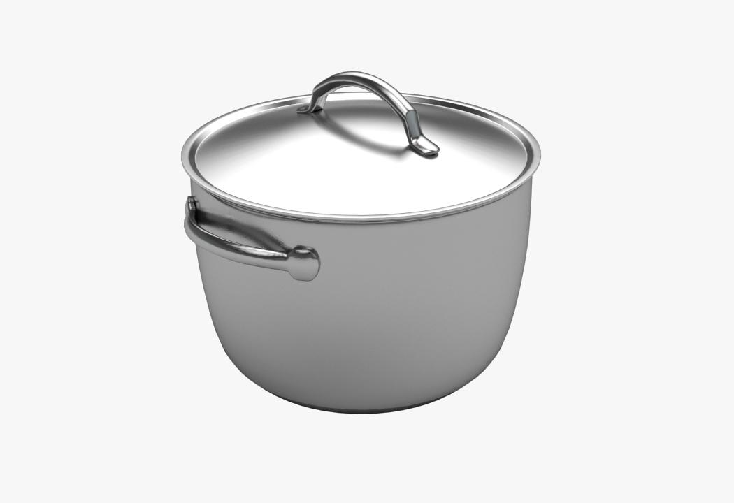 3d model pasta pot