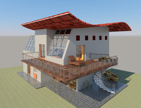 dwg villa house design revit