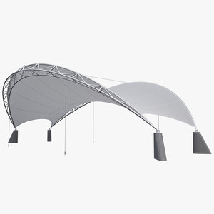 tensile membrane canopy max