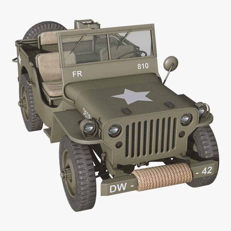 3d jeep pbr